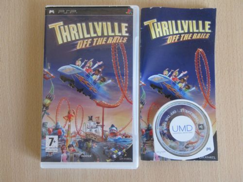 Thrillville Off the Rails (PSP)